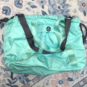 Lululemon Yoga Bag Mint